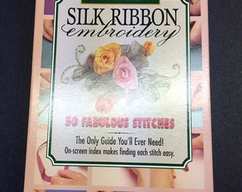 Bucilla Encyclopedia of  Silk Ribbon Embroidery (VHS TAPE)