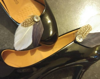 Goose Feather Shoe Clip