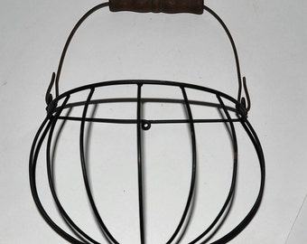 Vintage Wall Hanging Wire Basket, many uses