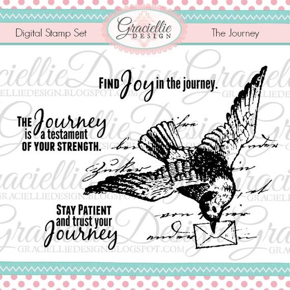 The Journey Digital Stamp Set