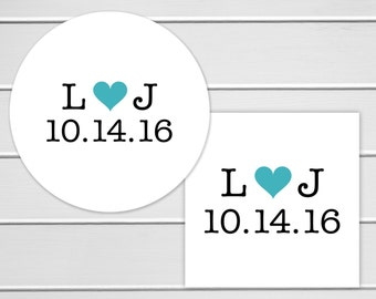 Save the Date Stickers, Wedding Favor Sticker, Wedding Stickers, Wedding labels (#104)