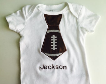 SALE 40% OFF- Baby football outfit - Baby Football Shirt - personalized baby outfit - baby gift