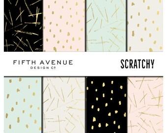 Digital Paper - Scratchy