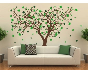 Items similar to Wall Decal Spring Maple Tree on Etsy