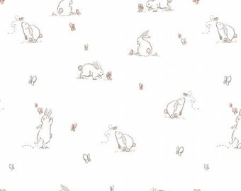 48'' Shannon Fabrics Pink Bunny Double Gauze by the Yard