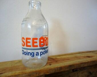 Seeboard Milk Bottle