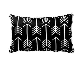 Black Throw Pillow Decorative Pillow Cover Black Accent Pillow Black Pillow Cover Black Decor Lumbar Pillow Euro Pillow