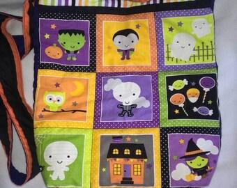 Glow in the dark Halloween shoulder bag