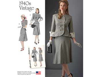 Simplicity Pattern  8242 Misses' / Women's Two Piece Dress
