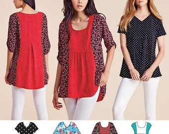 Simplicity Pattern 8052 Misses' Tops
