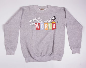 Vintage Disney World Mickey Mouse Sweatshirt Jumper
