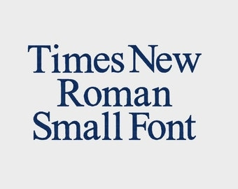 "Times New Roman Small Embroidery Machine Font (0.2"", 0.4"" 0.5"" & 0.75""), Upper, Lower case, numbers - Item # 1064"