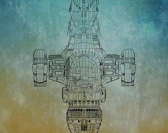 Firefly, Serenity stylish print / poster