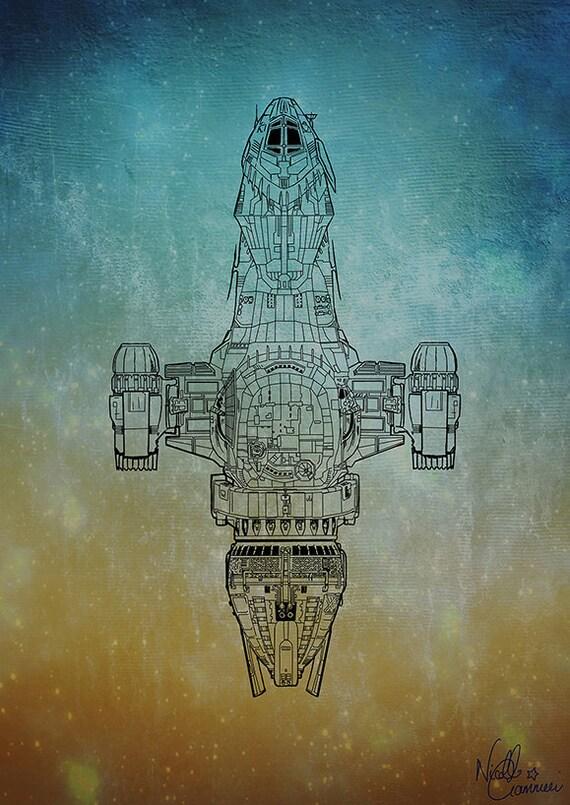 Firefly Serenity stylish print / poster