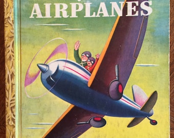 Bobby and His Airplane; 1948; A edition; Little Golden Book