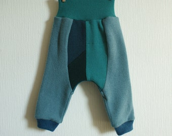 M size upcycled wool bloomers, diaper cover, soaker
