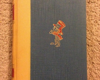Vintage Alice's Adventures in Wonderland Lewis Carroll Hardcover Book Novel