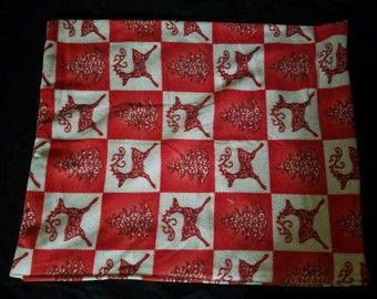 Baby blanket.  Christmas theme
