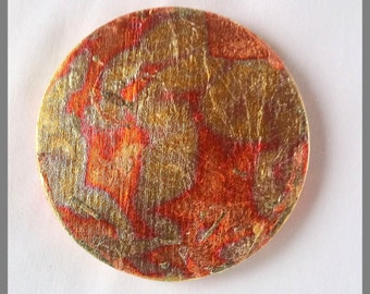 Copper coasters Etsy