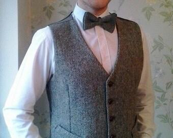 Bespoke Tailored Tweed Waistcoat | Harris Tweed