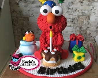 Elmo Birthday Cake Topper