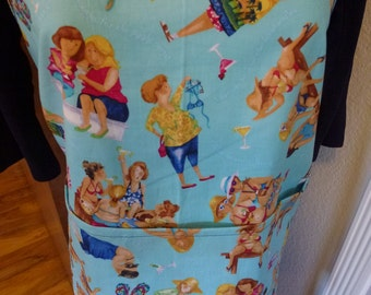 Women Having Fun Apron
