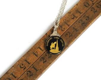 lady godiva necklace, coventry necklace, english necklace, vintage necklace