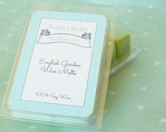 English Garden - Wax Melts, Scented Wax Melts, Soy Wax Melts, Soy Melts