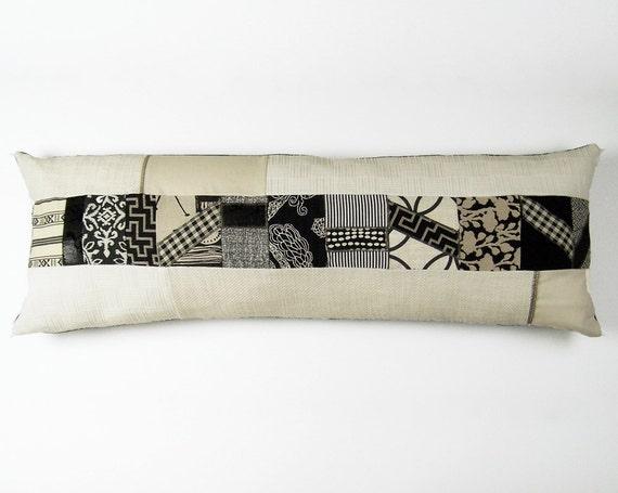 Extra Long Throw Pillows : LONG LUMBAR PILLOW-pillow cover upholstery fabric designer