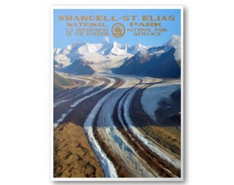 Wrangell - St. Elias National Park Poster