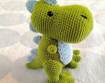 Crochet Dinosaur T-rex doll/stuffed animal/plush
