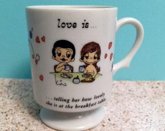 Vintage Love Is...Cup