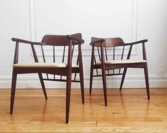 Items Similar To French Accent Arm Chair Upholstered In
