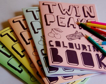 Twin Peaks Colouring Book