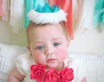 Elsa lace crown