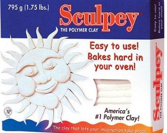 Sculpey-white 1.75lbs