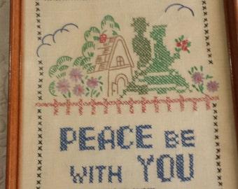 "Embroidery ""PEACE"""