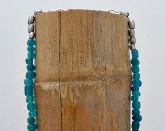 Ancient Glass Beads Necklace // Trade Beads Necklace // CarmaPearls Original