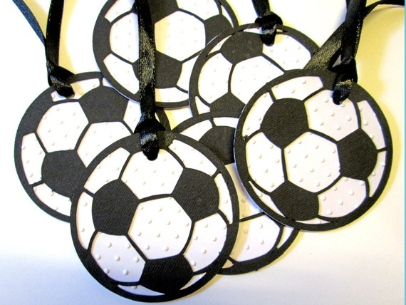 20 Personalized Soccer Gift Tags Birthday Party Decor Favor Bag Thank You Favors From