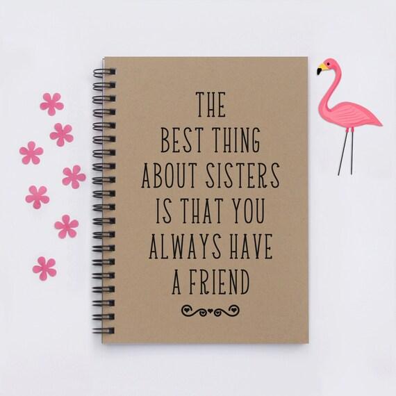 Wedding Gift For Sorority Sister : Gift for sister, sorority sister, The Best Thing About Sisters, 5