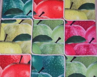 Decorative and original design (apples)