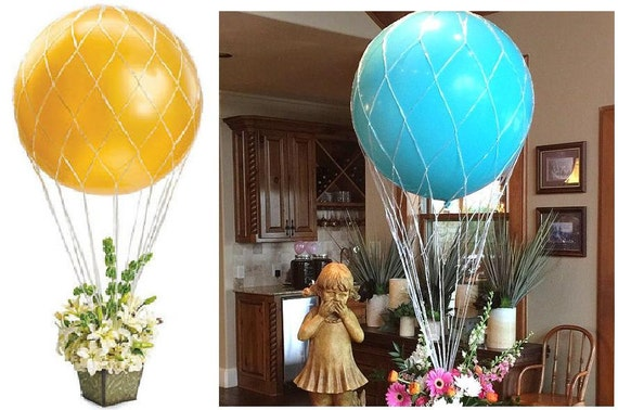 Inch hot air balloon net use with by