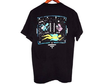 Vintage Rare 1990 Indigo Girls Tee - Large - Nomads Indians Saints - Promo Shirt - 90s Band Shirt - Folk Rock -
