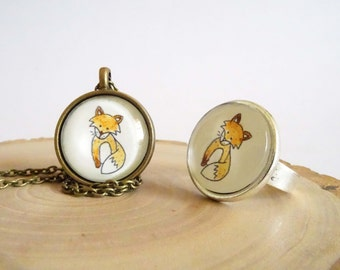 Forest Critters - Ring - Fox