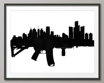 Detroit Michigan AR-15