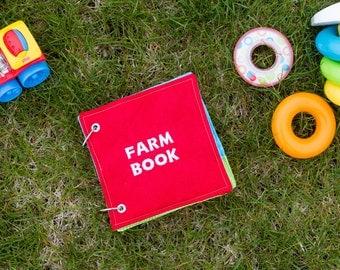 Quiet Book - On The Farm