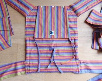 Mei Tai - Daiesu Bubblegum Purple - Mei Tai   Baby Carrier - Baby Wrap - Woven Baby Wrap -   Baby Carrier - Wrap Conversion Mei Tai