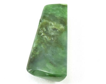 Jade bead, long jade bead