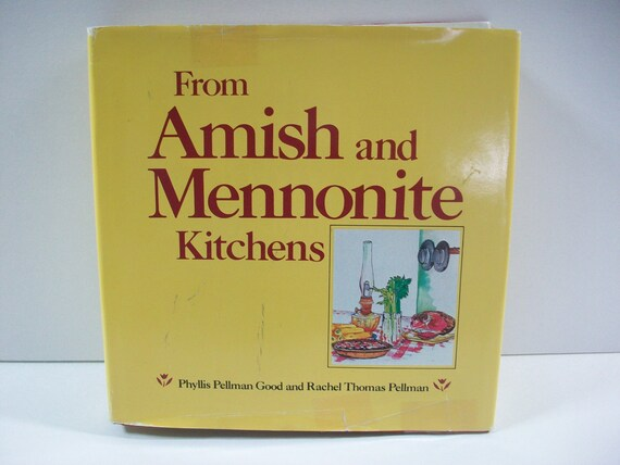 from amish and mennonite kitchens received his undergraduate