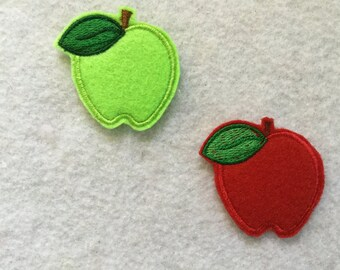 Apple Feltie, Two Color  to Choose, Always precut